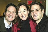 Martin with Jessica Molaskey and Steven Pasquale